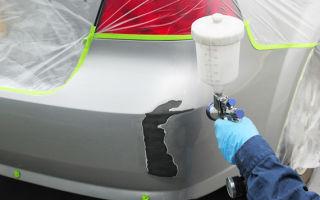 Как самому покрасить бампер. 7 основных шагов при покраске пластикового бампера своими руками