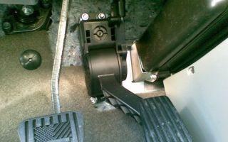 Эпа – электронная педаль акселератора в приоре и калине: замена, принцип действия, характеристики