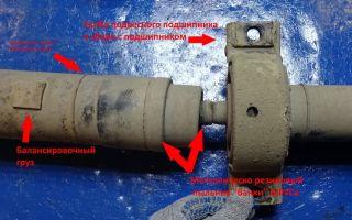 Как заменить крестовину и подвесной подшипник на ниссан икс трейл и кашкай