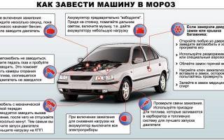 Как завестись в мороз? советы как завести машину зимой, правила и рекомендации по запуску двигателя автомобиля в мороз