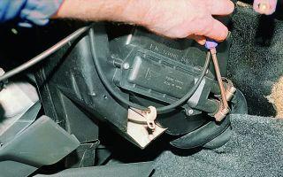 Как поменять радиатор печки ваз 2109. инструкция по замене своими руками