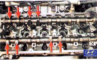 Проверка и регулировка зазров клапанов на hyundai h-1/starex. инструкция как отрегулировать клапана на стартексе