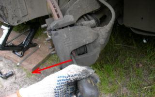 Замена передних тормозных колодок на ford focus 2. как своими руками поменять передние колодки на фф2