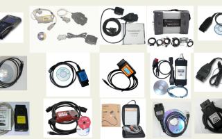 Диагностическое оборудование для автомобилей: типы, разновидности и назначение автомобильных сканеров