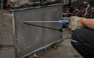 Пять основных ошибок при промывке системы охлаждения двигателя