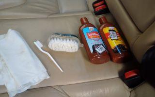 7 лучших средств для чистки кожаного салона автомобиля (рейтинг, обзор отзывы)
