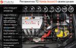 Хонда аккорд 8 — список регламентных работ (то 1, 2, 3, 4) и детали при обслуживании