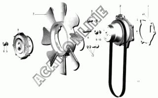 Проверка электромагнитной муфты вентилятора. муфта вентилятора baw bj1044