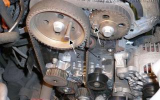 Замена грм vw golf 4 на двигателе с одним распредвалом