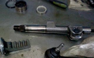 Ремонт редуктора гур land rover defender. полная разборка рулевого редуктора червячного типа и его ремонт