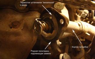 Инструкция по проверке и замене термостата мазда демио.
