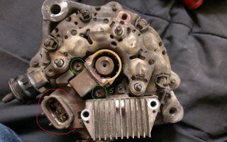 Инструкция как разобрать генератор тойота корона/калдина для проверки и ремонта. замена деталей генератора на corona/caldina