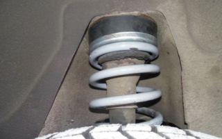 Задние пружины ваз (2101-2107). полная инструкция по замене.