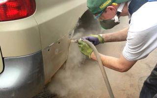 Удаление ржавчины с кузова автомобиля.  как убрать ржавчину с кузова авто