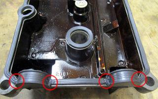 Топ 5 лучших герметиков для клапанной крышки двигателя