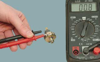 Проверка датчика давления масла на исправность мультиметром, компрессором с лампочкой, манометром (основные способы)