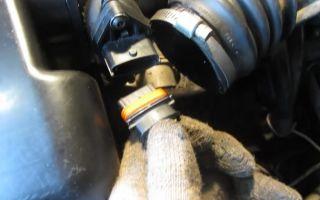 Дмрв — датчик массового расхода воздуха в приоре и калине: расположение, снятие, установка