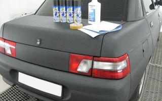 Подготовка авто к покраске резиновой краской