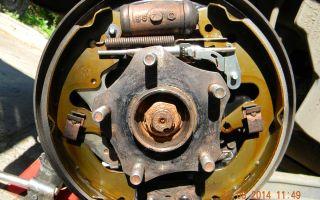 Инструкция по замене задних тормозных колодок сузуки гранд витара