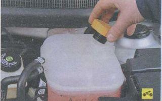Замена охлаждающей жидкости ваз 2110. как поменять тосол своими руками