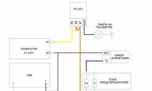 Как подключить генератор ваз 2106. схема подключения генератора на ваз классика