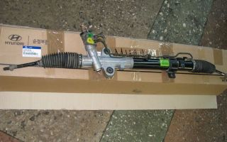 Инструкция как снять и поменять рулевую рейку хундай старекс (н-1)