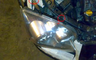 Инструкция по регулировке фары головного света на тойота авенсис т250