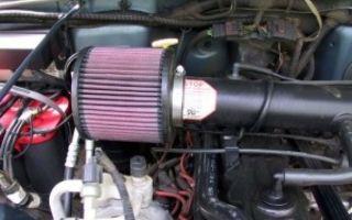 Воздушный фильтр нулевого сопротивления: целесообразность установки и недостатки