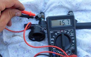 Проверка насос форсунок с механическим приводом своими руками. как проверить форсунки дизеля ваг комом и тестером